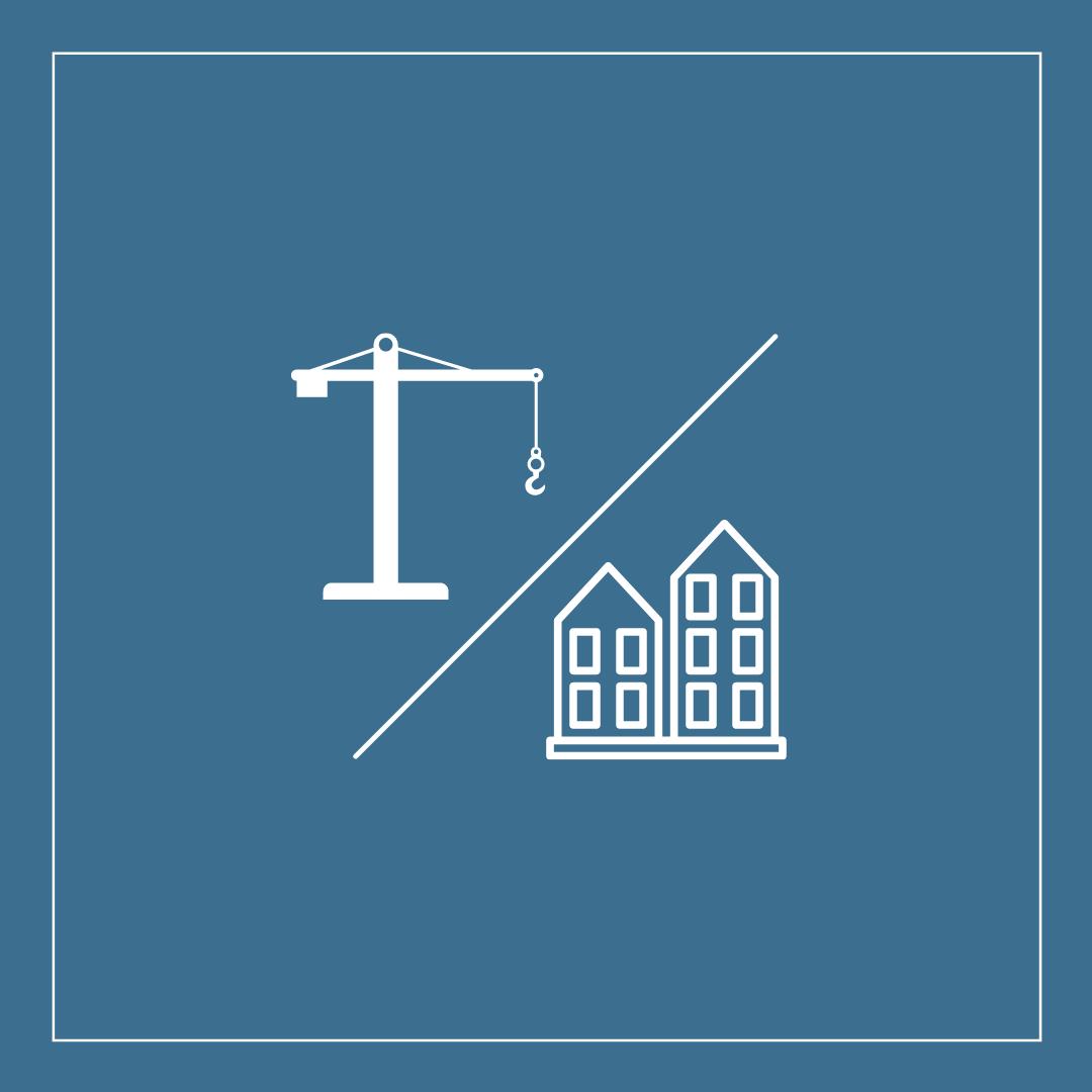 Vor- und Nachteile von Neubau- bzw.  Bestandimmobilien